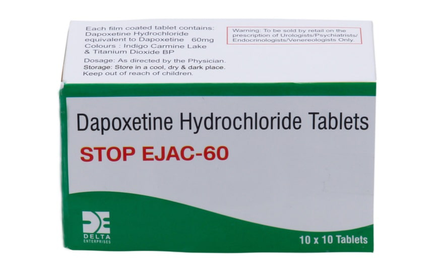 Dapoxetine | Stop Ejac | 60mg / 50 Pl
